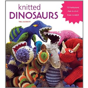 Free Dinosaur Knitting Pattern: Knitted Dinosaurs by Tina Barrett