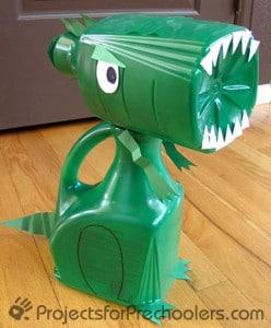 Juice Bottle Dinosaur