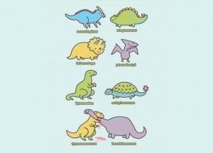 Threadless Dinosaur T-Shirts: Know Your Dinosaurs