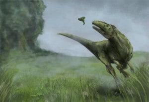 Dinosaur In The Morning